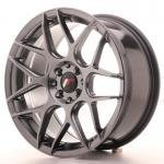 jr_jr1817805x3574hb Japan Racing JR18 17x8 ET35 5H Blank Hiper Black