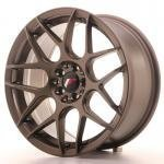 jr_jr18178142573mbz Japan Racing JR18 17x8 ET25 4x100/108 Matt Bronze