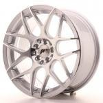 jr_jr18178142573sm Japan Racing JR18 17x8 ET25 4x100/108 Silver Mach