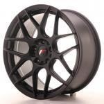 jr_jr181885xx2574bf Japan Racing JR18 18x8,5 ET25-45 Blank MattBlac
