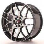 jr_jr1818855x3574gbm Japan Racing JR18 18x8,5 ET35-45 Blank 5H Black Ma