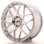 jr_jr1818855x3574sm Japan Racing JR18 18x8,5 ET35-45 Blank 5H Silver M