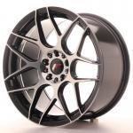 jr_jr1818955x3074gbm Japan Racing JR18 18x9,5 ET30-43 Blank 5H Black Ma