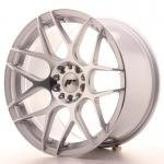 jr_jr1818955x3074sm Japan Racing JR18 18x9,5 ET30-43 Blank 5H Silver M
