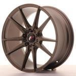 jr_jr211885mz3574mbz Japan Racing JR21 18x8,5 ET35 5x100/120 Matt Bronz