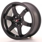 jr_jr3157142573bf Japan Racing JR3 15x7 ET25 4x100/108 Matt Black