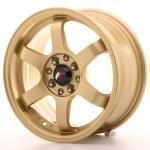 jr_jr3157142573gd Japan Racing JR3 15x7 ET25 4x100/108 Gold