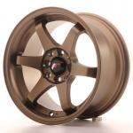 jr_jr3158142573abz Japan Racing JR3 15x8 ET25 4x100/108 Anodiz Bronze