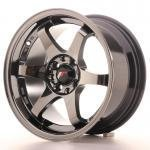 jr_jr3158142573bch Japan Racing JR3 15x8 ET25 4x100/108 Black Chrome