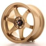 jr_jr3158142573gd Japan Racing JR3 15x8 ET25 4x100/108 Gold