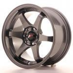 jr_jr3158142573gm Japan Racing JR3 15x8 ET25 4x100/108 Gun Metal