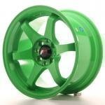 jr_jr3157044073gr Japan Racing JR3 15x7 ET40 4x100/114 Green