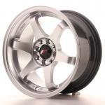 jr_jr3158142573hs Japan Racing JR3 15x8 ET25 4x100/108 HiperSilver