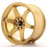 jr_jr3168042573gd Japan Racing JR3 16x8 ET25 4x100/108 Gold