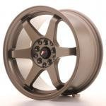 jr_jr3168042573mbz Japan Racing JR3 16x8 ET25 4x100/108 Matt Bronze