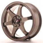 jr_jr3177142573bz Japan Racing JR3 17x7 ET25 4x100/108 Bronze
