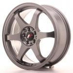 jr_jr3177142573gm Japan Racing JR3 17x7 ET25 4x100/108 Gun Metal