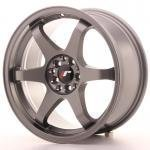 jr_jr3178142573gm Japan Racing JR3 17x8 ET25 4x100/108 Gun Metal