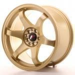 jr_jr3179053573gd Japan Racing JR3 17x9 ET35 5x100/114 Gold