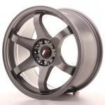 jr_jr3179042073gm Japan Racing JR3 17x9 ET20 4x100/114 Gun Metal