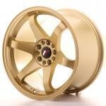 jr_jr31810mz2574gd Japan Racing JR3 18x10 ET25 5x100/120 Gold