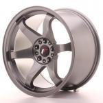 jr_jr31810mz2574gm Japan Racing JR3 18x10 ET25 5x100/120 Gun Metal