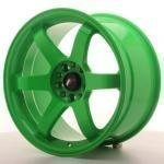 jr_jr3189151574gr Japan Racing JR3 18x9 ET15 5x114/120 Neon Green