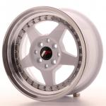 jr6157142567wl_13416_1.jpg Japan Racing JR6 15x7 ET25 4x100/108 White with Machined Lip