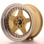 jr6169142067gdl_13446_1.jpg Japan Racing JR6 16x9 ET20 4x100/108 Gold with Machined Lip
