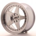 jr61790mg2574sm_13466_1.jpg Japan Racing JR6 17x9 ET25 5x114/120 Silver Machined Face