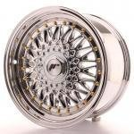 jr_jr9168142574ch Japan Racing JR9 16x8 ET25 4x100/108 Chrome