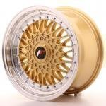 jr_jr9168142574gd Japan Racing JR9 16x8 ET25 4x100/108 Gold