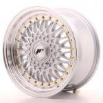 jr_jr9168142574s Japan Racing JR9 16x8 ET25 4x100/108 Silver