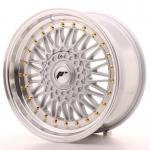 jr_jr91785xx2074s Japan Racing JR9 17x8,5 ET20-35 Blank Silver
