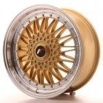 jr_jr91880xx3574gd Japan Racing JR9 18x8 ET35-40 Blank Gold