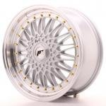 jr_jr91880mz3574s Japan Racing JR9 18x8 ET35 5x100/120 Machined Silv