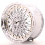 jr_jr91890mz3574s Japan Racing JR9 18x9 ET35 5x100/120 Machined Silv