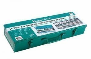 "Socket set 3/4"" 15 pcs, Kamasa K4672"