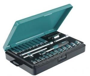 "Socket Set 1/4"" mm 34 pcs"