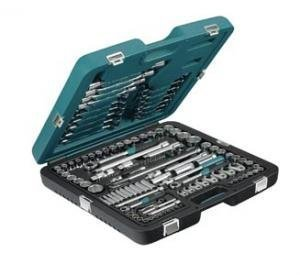 "Socket set 1/4"" + 3/8"" + 1/2"" 138 pcs"