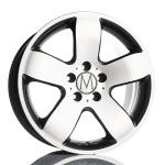 Melchior Vanguard Classic Titaniumpolish wheels
