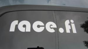 racefi_sticker_21x5.jpg Race.fi sticker, 21cm x 5cm silver
