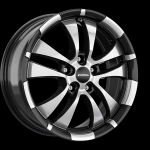 Ronal R59 JETBLACK FACE-CUT wheels