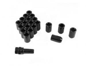 Hex female wheel nuts