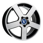 V-Wheels Pegasus Black Polished wheels