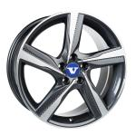 V-Wheels Tornado Titanium Polished wheels