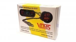 Vems Wideband AFR O2 + EGT gauge 52mm