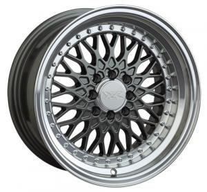 "xr536-1580-2gm.jpg XXR 536 15x8"" 4x100 & 4x108 et: 20 cb: 73mm Gun metal polished l"